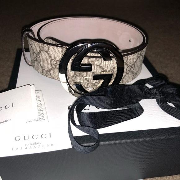 d0576a223b3 Gucci Accessories - Beige ebony Gucci belt LIKE NEW!